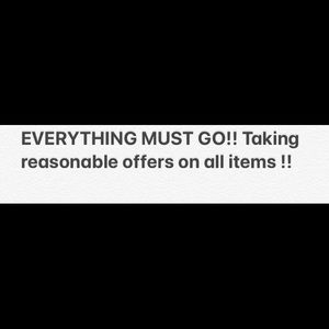 Other - Everything must go ! Accepting reasonable offers !